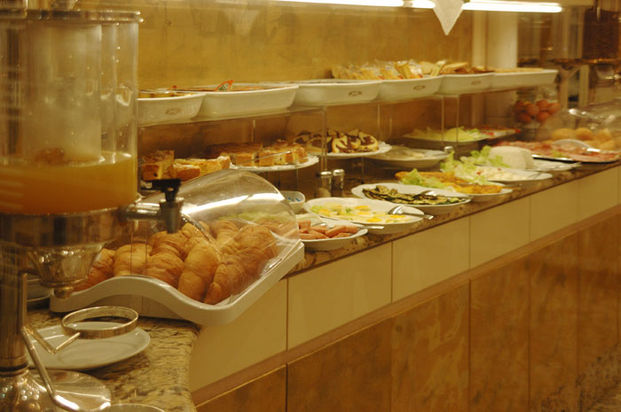 Hotel Wagner Milano Buffet
